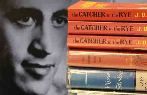 Copies of JD Salinger's The Catcher in the Rye (AP Photo/Amy Sancetta)