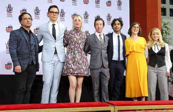 The cast of The Big Bang Theory (Photo by Willy Sanjuan/Invision/AP)