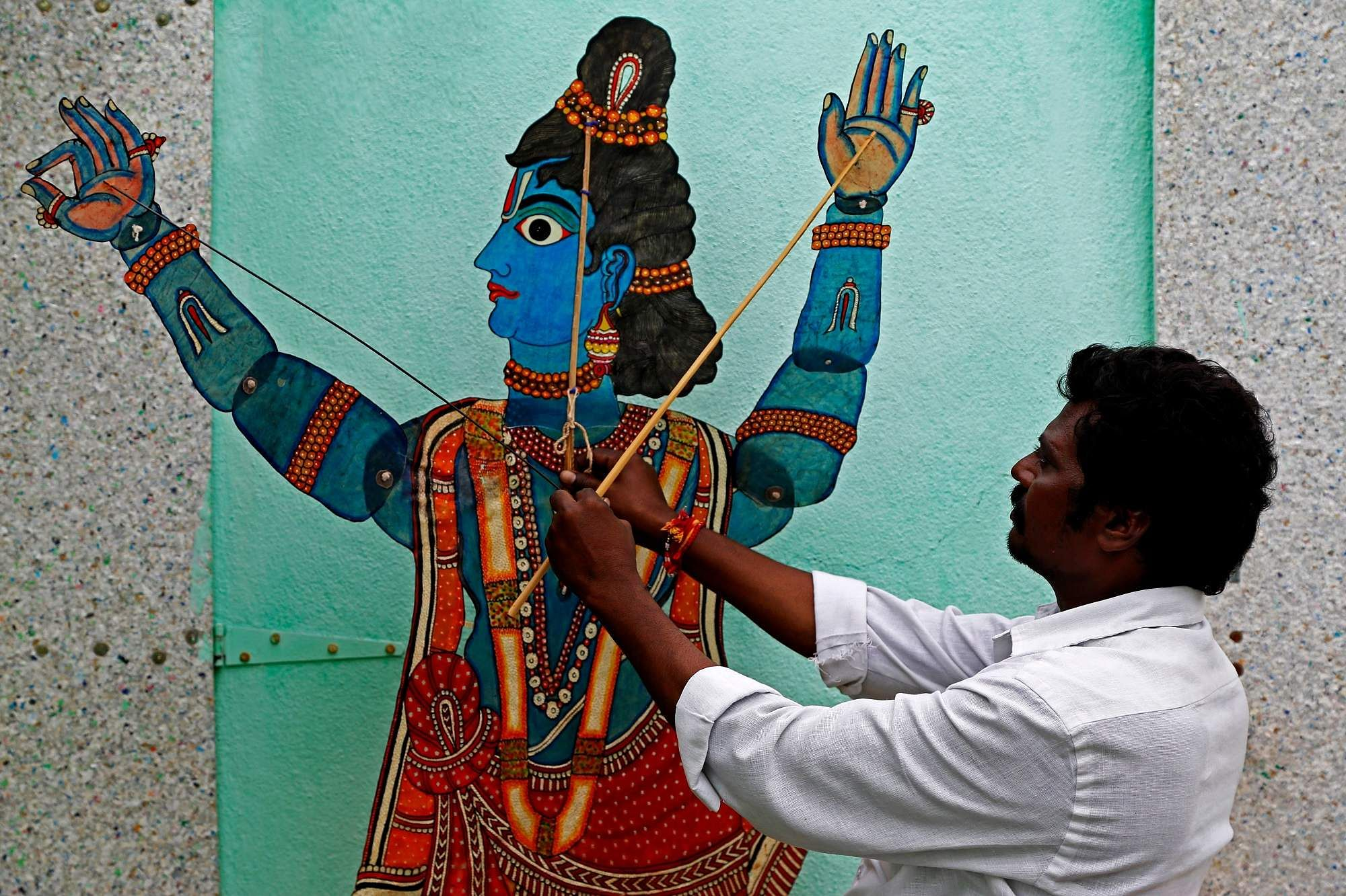 Andhra-_Leather_Puppet_craft