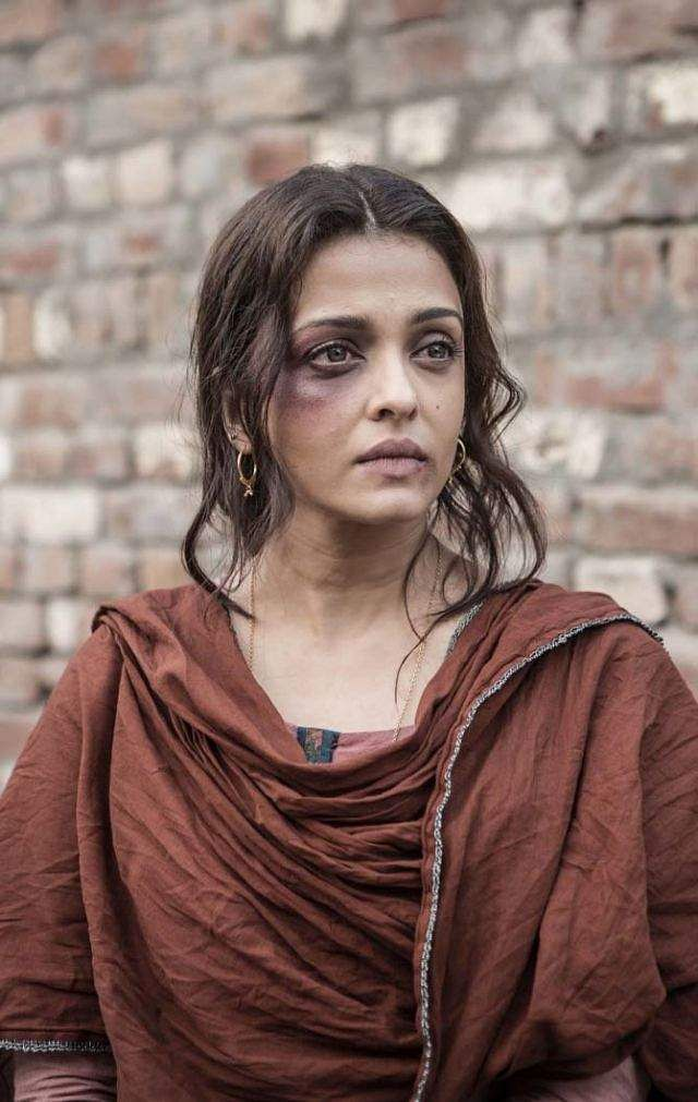 Aishwarya Rai as Dalbir Kaur in  biographical drama Sarbjit
