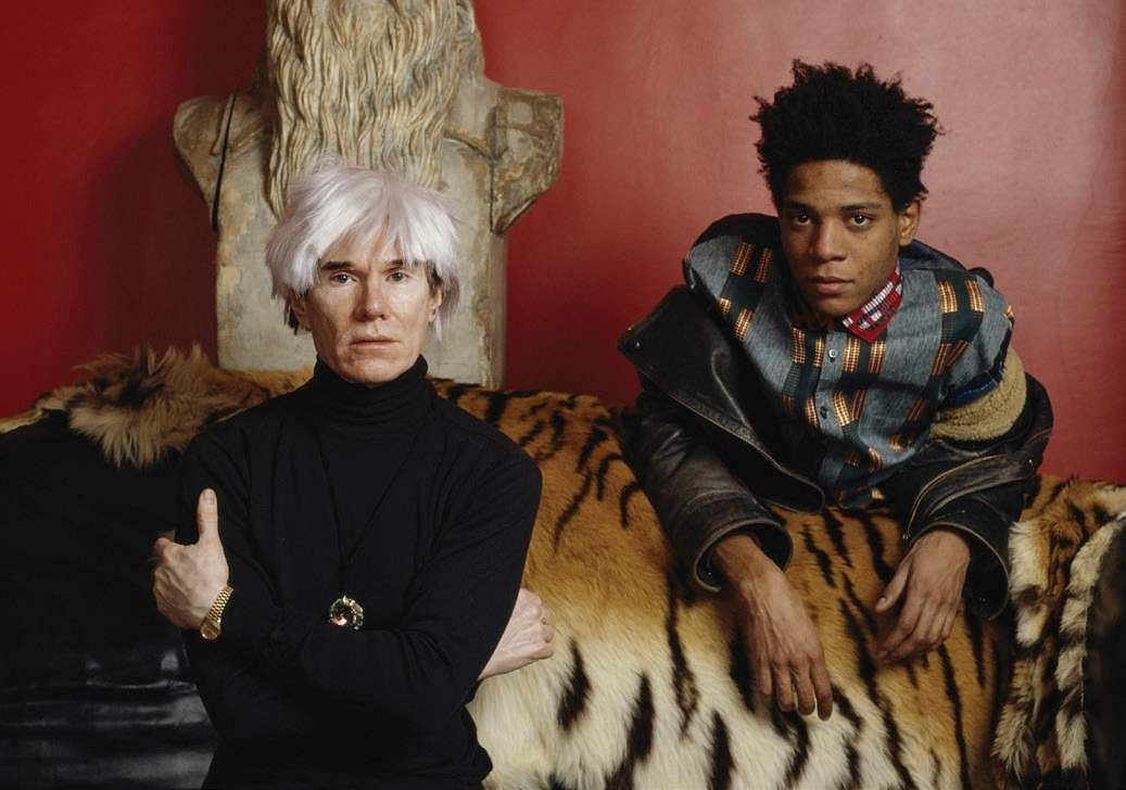 Influential artists, Andy Warhol and Jean-Michel Basquiat  (Source: IANS)