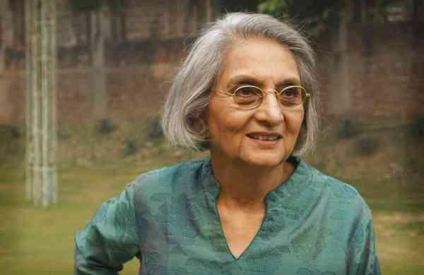 Ma Anand Sheela (AP Photo/ Krithika Varagur)