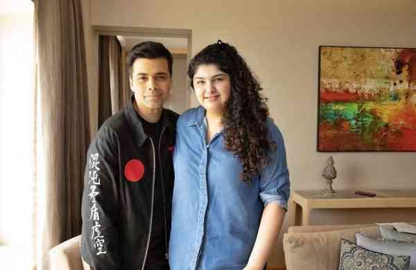 Karan Johar with Anshula Kapoor