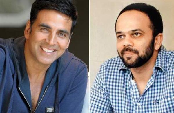 Actor Akshay Kumar and Rohit Shetty