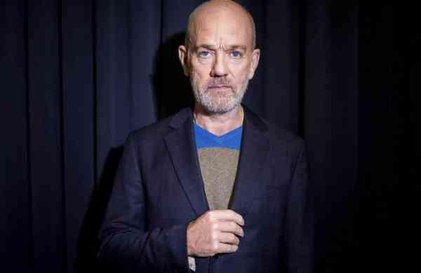 R.E.M. singer Michael Stipe (Photo by Matt Licari/Invision/AP)