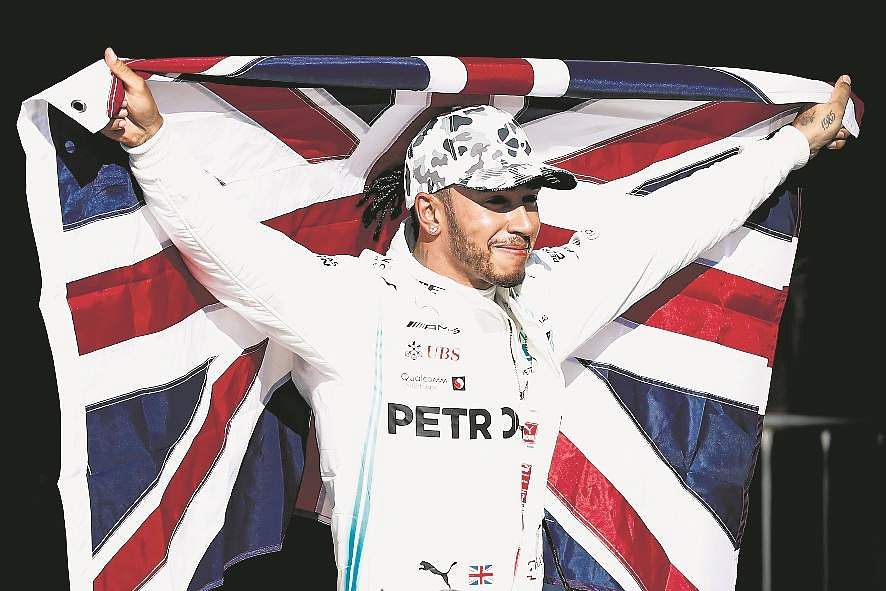 Lewis Hamilton is the champion!