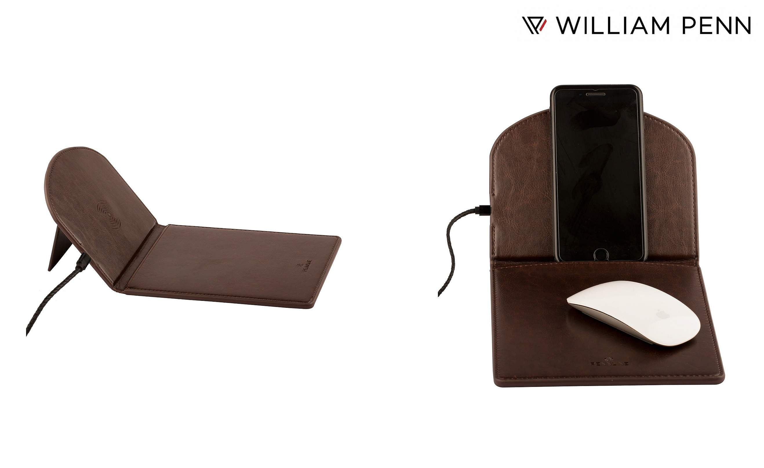Pennline Deskmo: William Penn's new wireless charging mouse pad helps you on the go, with fast wireless charging upto 10W. Collapsible, comes in a choice of two colours. INR 2,200.