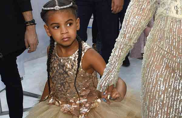 Blue Ivy, daughter of Jay-Z and Beyoncé (Photo by Chris Pizzello/Invision/AP)