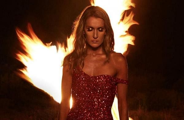 Courage by Celine Dion (Sony Music Entertainment Canada/Columbia Records via AP)