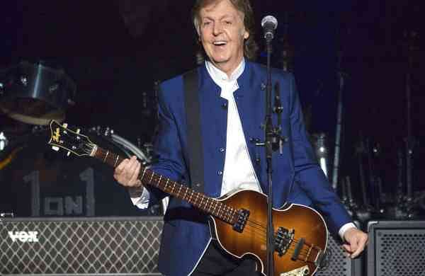 Paul McCartney (AP Photo/Scott Audette)