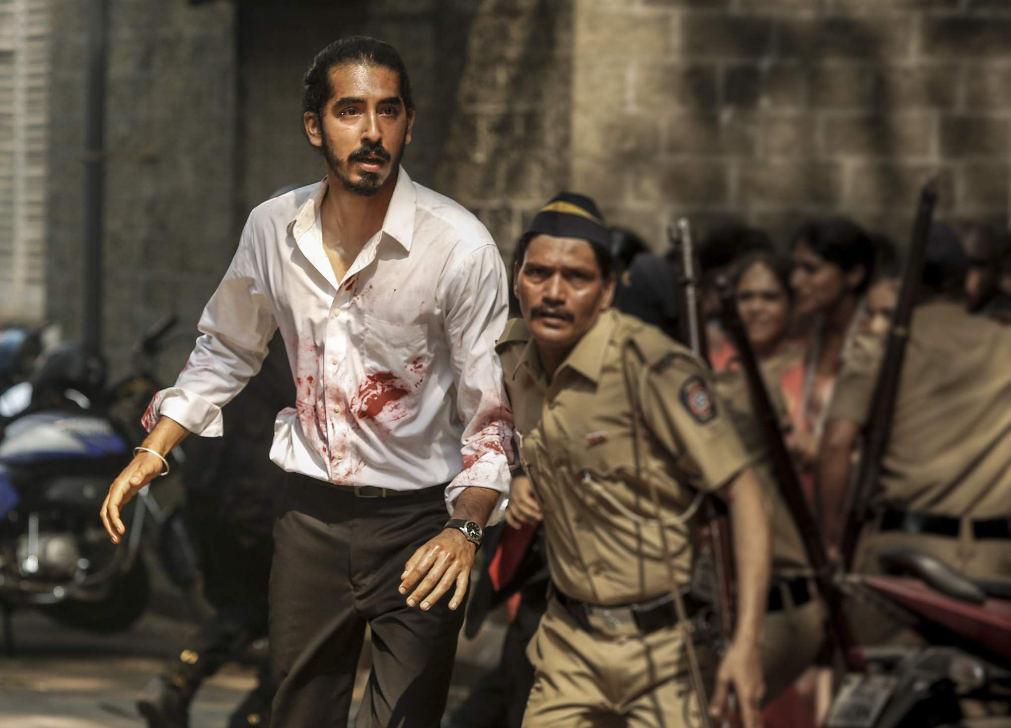 Dev Patel in Hotel Mumbai