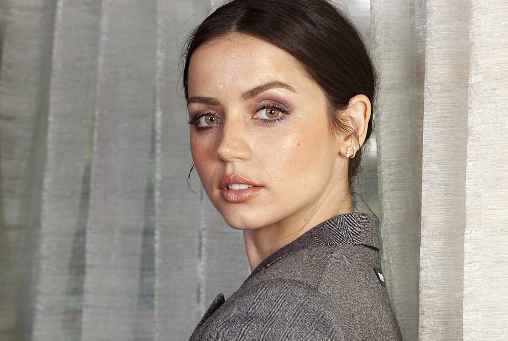 Actress Ana de Armas posing for a portrait to promote her film 'Knives Out'  (Photo by Rebecca Cabage/Invision/AP)