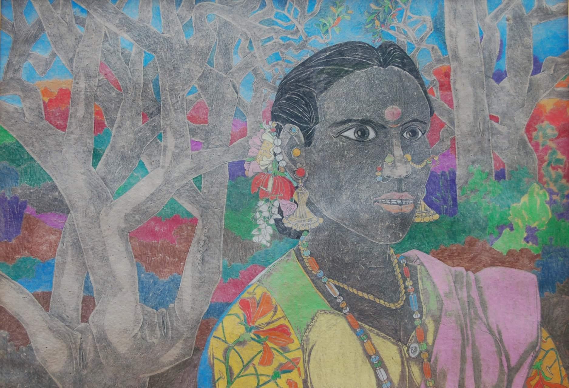 Art by Indian artist Kalal Laxma Goud