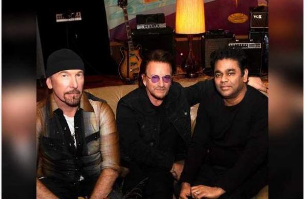 Rock band U2 collaborates with AR Rahman for latest song, Ahimsa