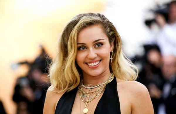Singer-songwriter Miley Cyrus