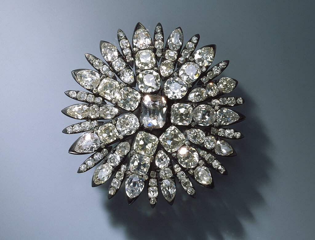 One of the jewels that was taken in the Dresden Jewellery heist
