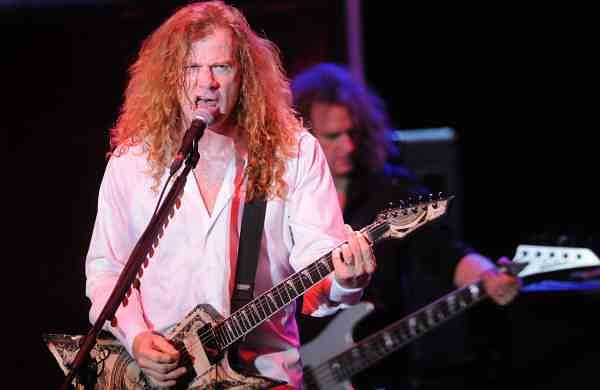Dave Mustaine (Xinhua/Nicolas Celaya/IANS)