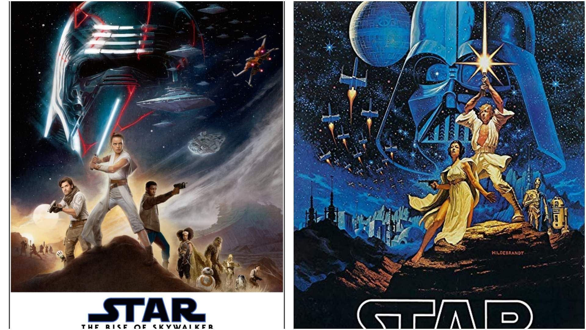 Rise Of Skywalker Recreates The Iconic 1977 Star Wars A New Hope Poster