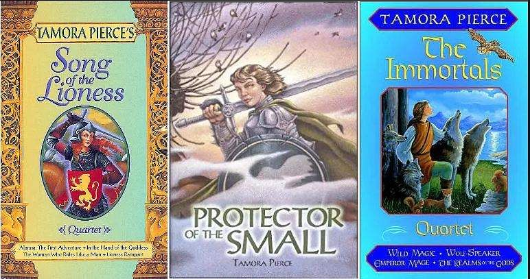 Books from the Tortall Universe