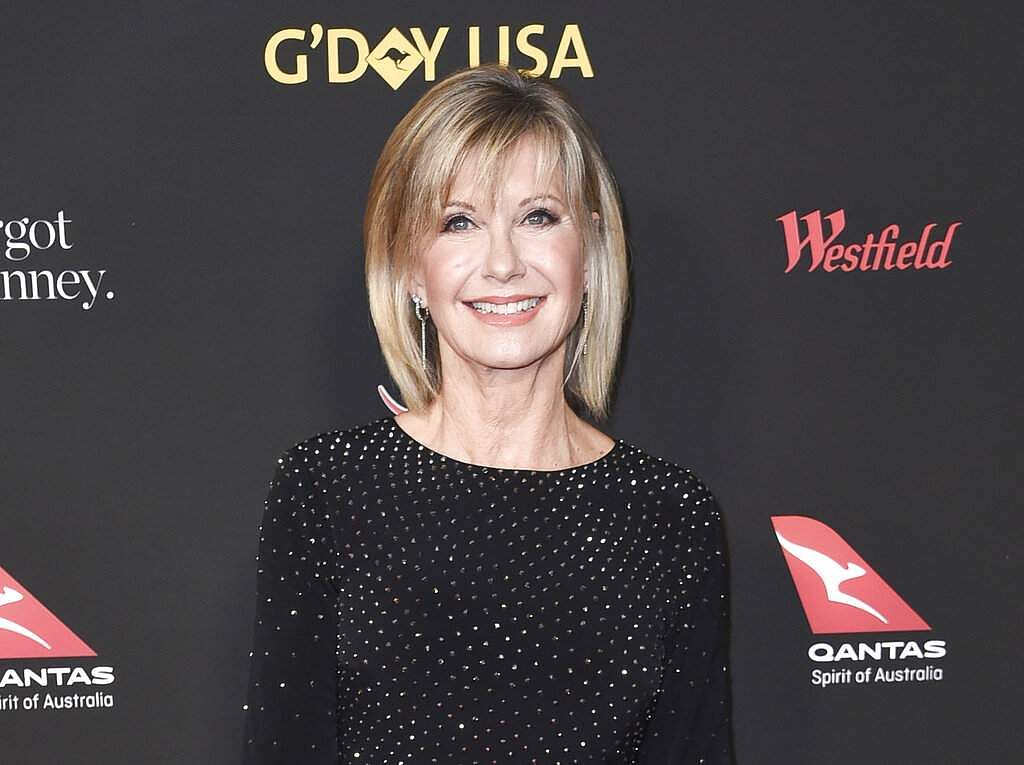 Olivia Newton-John attends the 2018 G'Day USA Los Angeles Gala at the InterContinental Hotel Los Angeles (Photo by Richard Shotwell/Invision/AP, File)