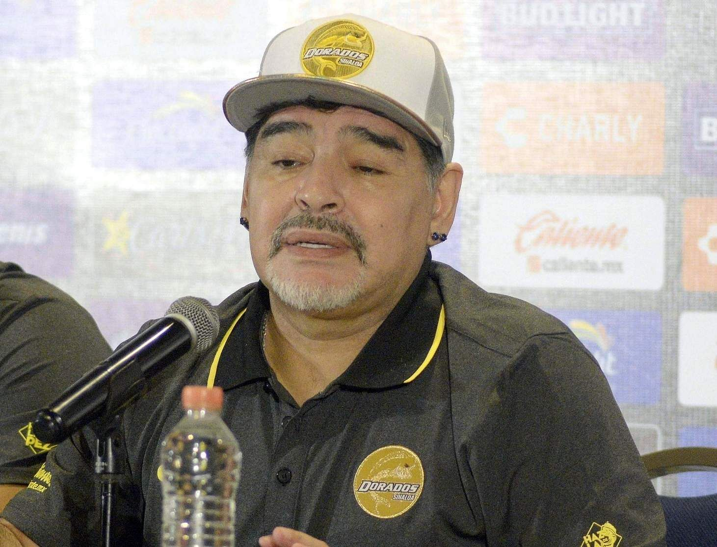 Diego Maradona (File Photo: IANS)