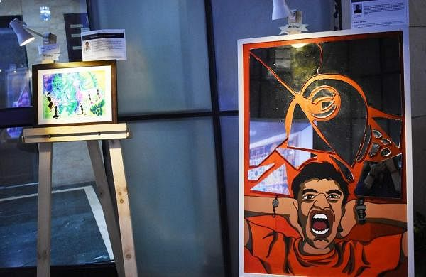'Discovering Abilities' Artworks of Winners with Disabilities Source: IANS