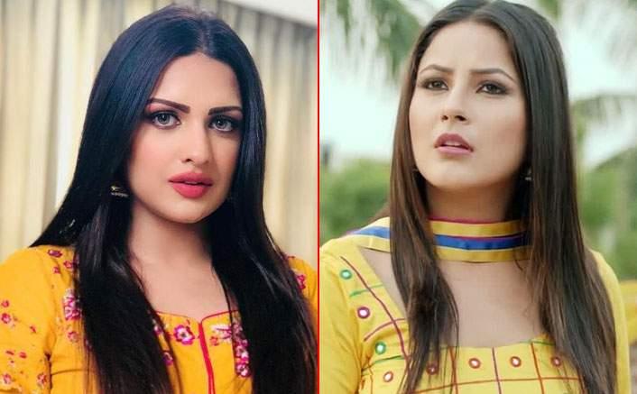 Punjabi model and singer Himanshi Khurana and singer Shehnaz Gill