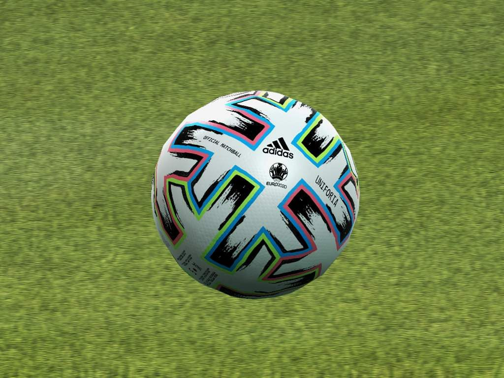 UEFA Euro 2020 Uniforia ball by Adidas