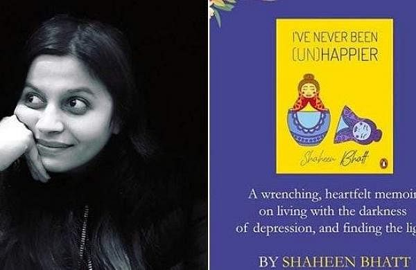 Author Shaheen Bhatt and her new book I've Never Been (Un)Happier