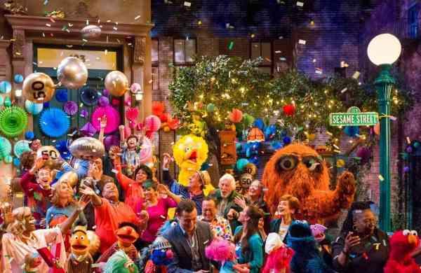 The cast of Sesame Street (Richard Termine/HBO via AP)