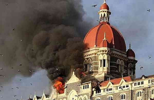 A file photo of the 26/11 attacks in Mumbai (Photo: Sandeep Mahankal/IANS)