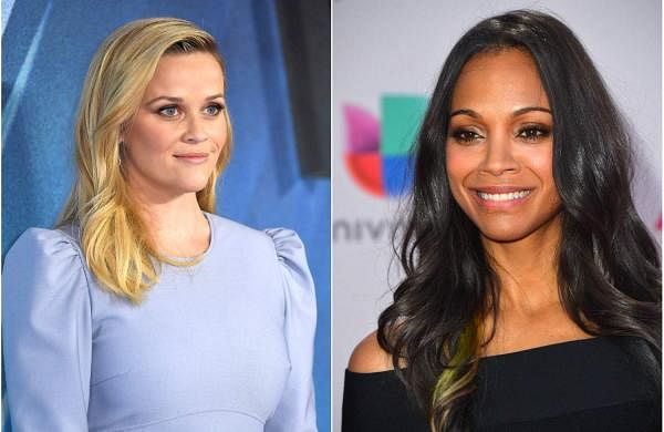 Reese Witherspoon and Zoe Saldana