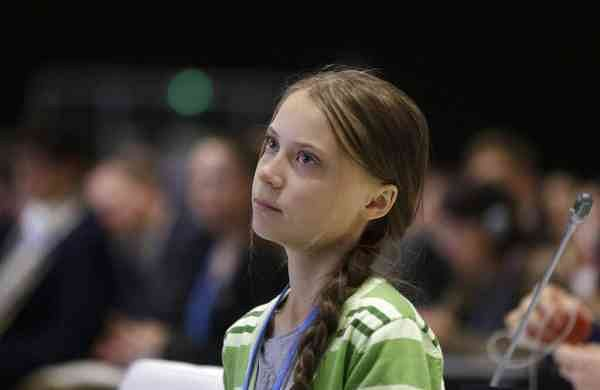 Greta Thunberg (AP Photo/Paul White)