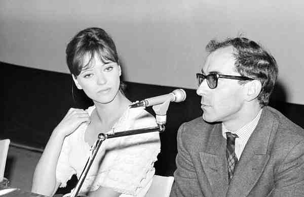 1965 file photo: Jean Luc Godard and Anna Karina (AP Photo/Mario Torrisi)