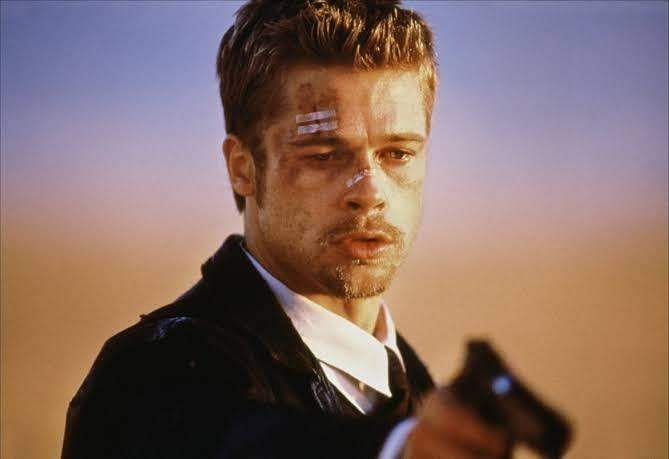 Brad Pitt in Seven
