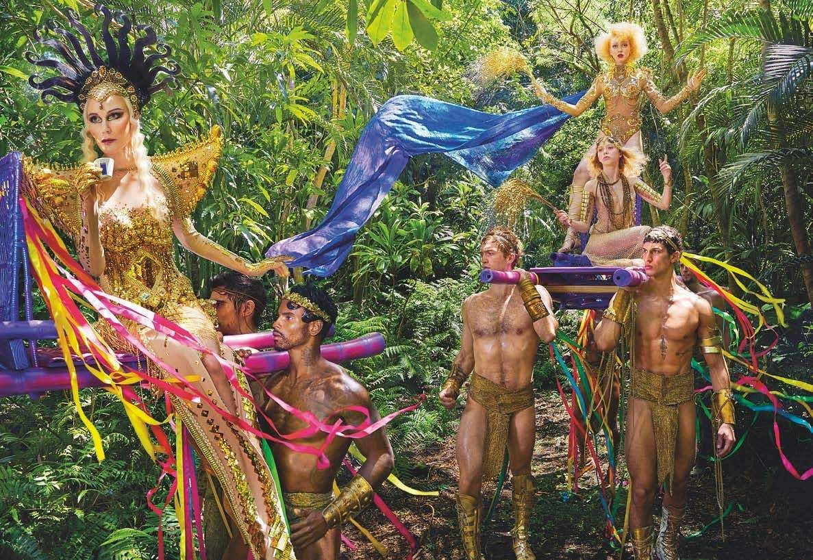 David LaChapelle's 'Earth CelebrAction'