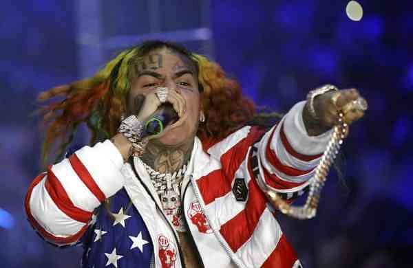 Tekashi 6ix9ine (AP Photo/Luca Bruno)
