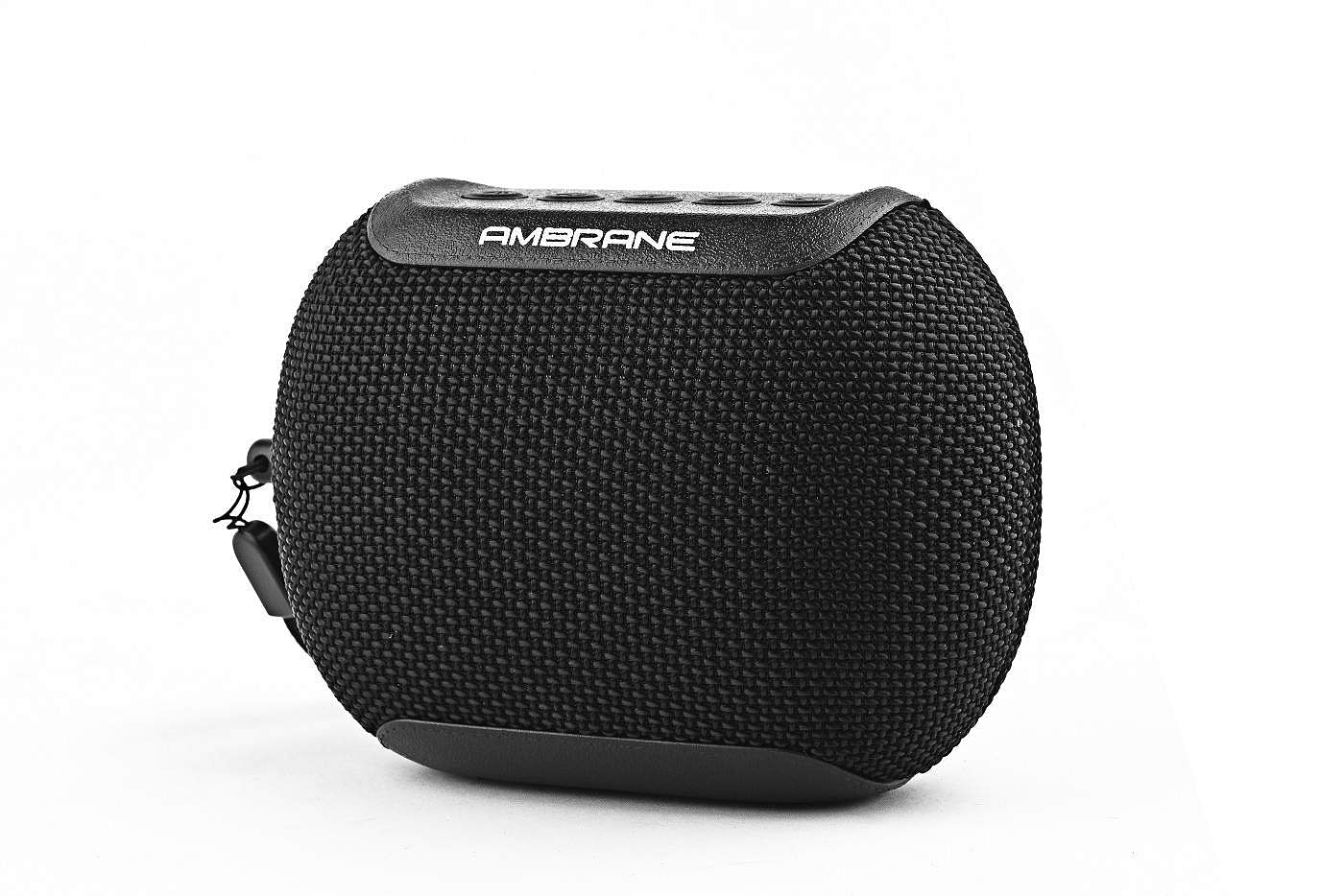 Ambrane Infinity Speaker: IPX6 dust-proof and water-resistant, belts out great sound for a compact, light 5W BT speaker. Four hours of battery life, BT 5.0 and hands-free calling. INR 1,999.