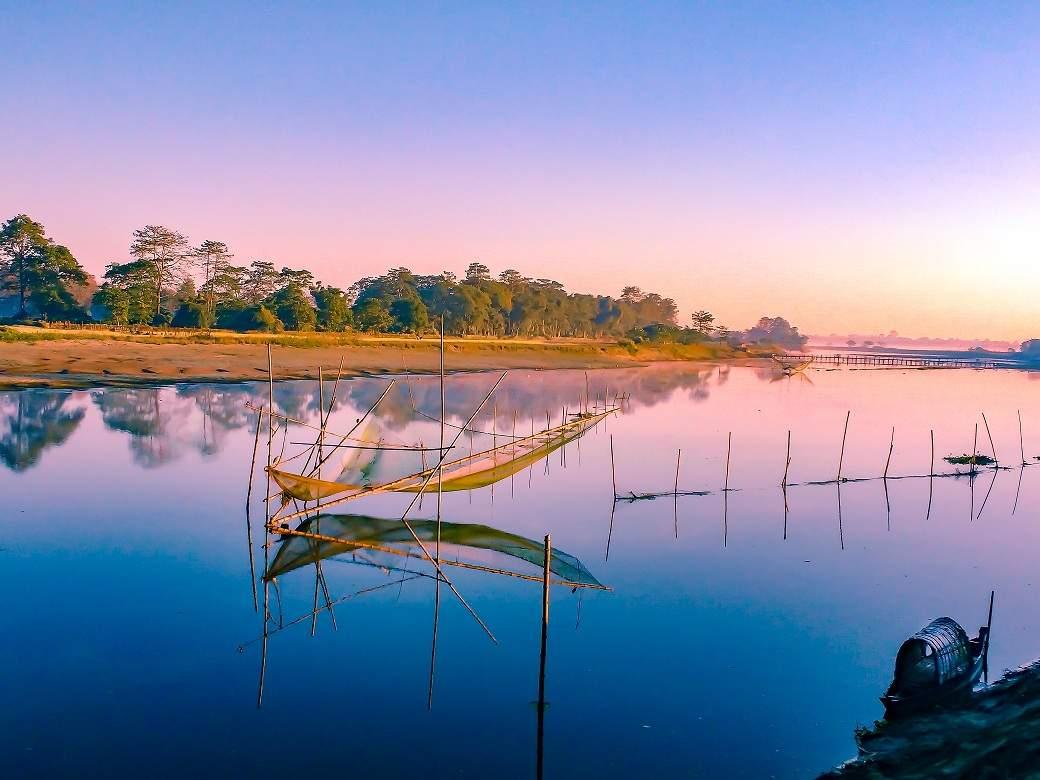 Majuli, the world's largest river island