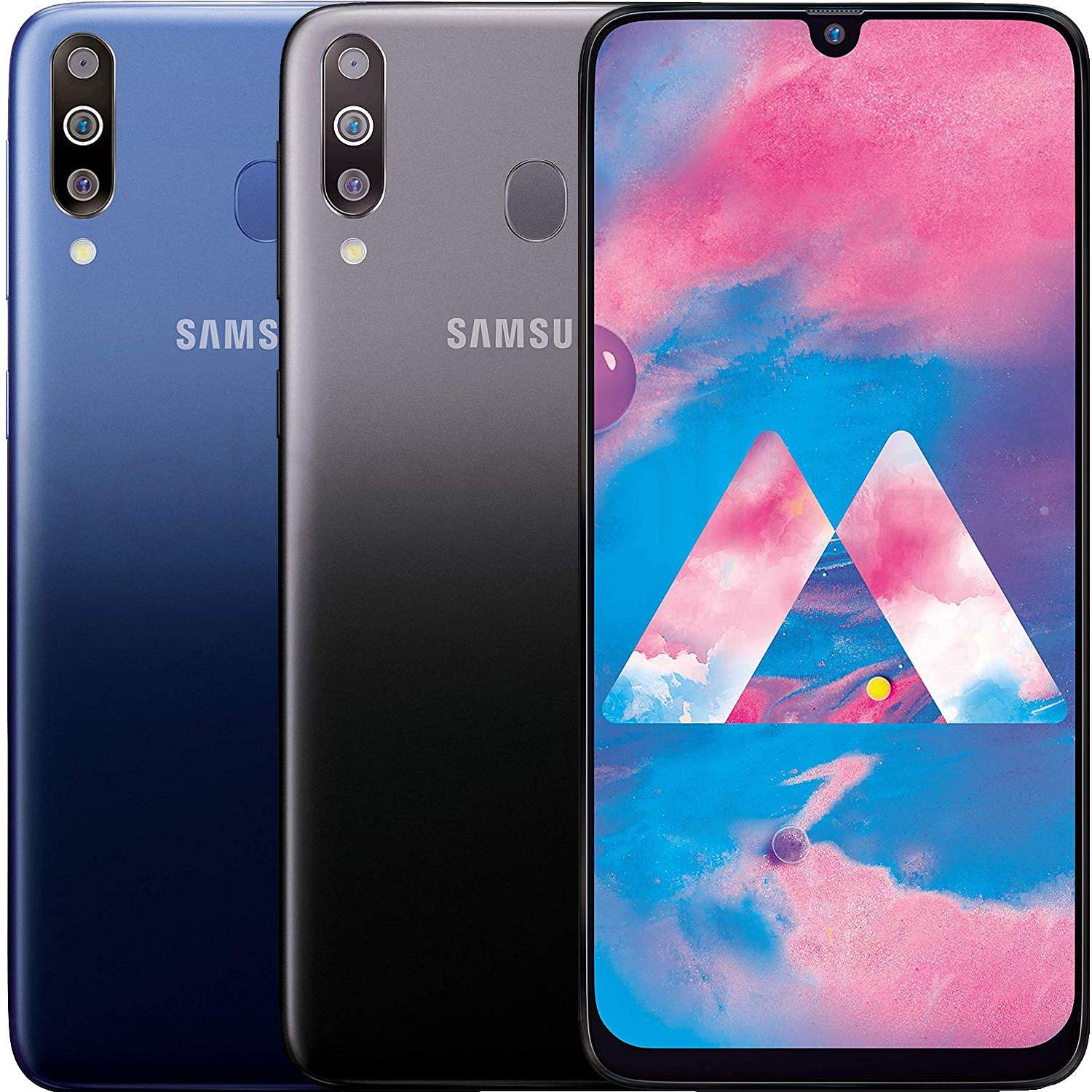 """Samsung Galaxy M30: A razor-sharp 6.4"""" Super AMOLED screen, 5000mAh battery, triple rear cams, Widevine L1 certification for HD streaming and Dolby ATMOS 360 surround sound. INR 9,999."""