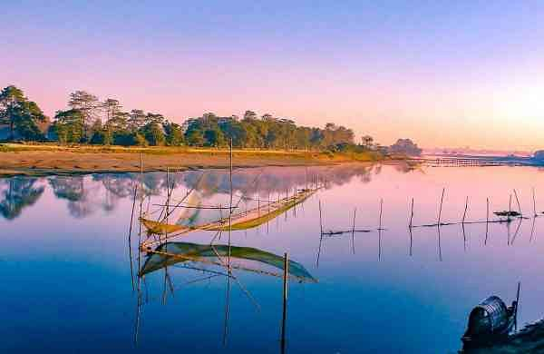 Majuli, the world's largest river island