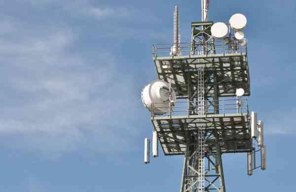 File photo: Communications tower