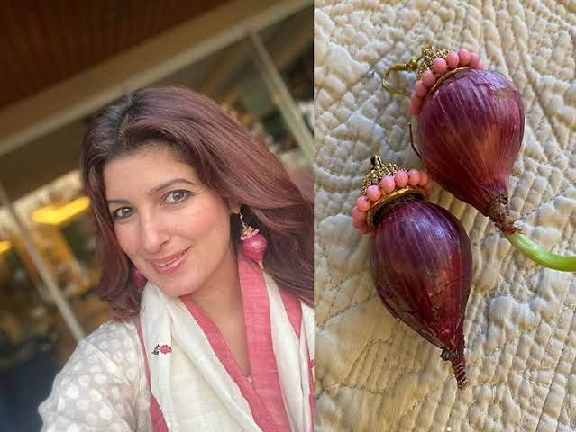 'Agirl's best friends': Twinkle Khanna flaunts onion earrings in latest Instagram post