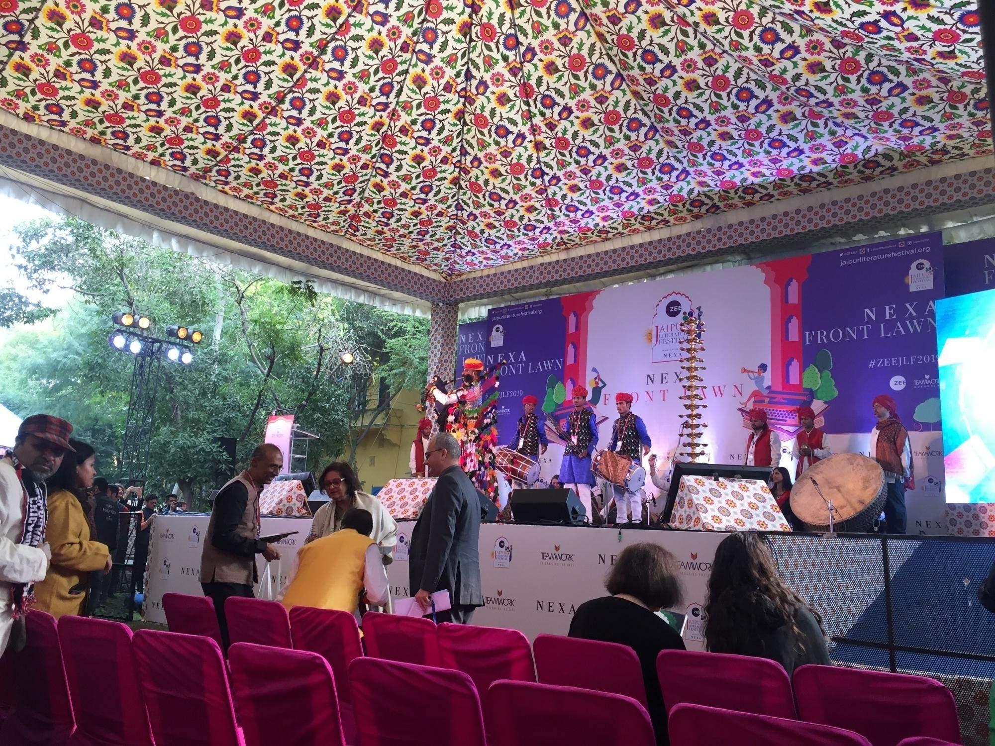 Jaipur Literature Festival at Diggi Palace