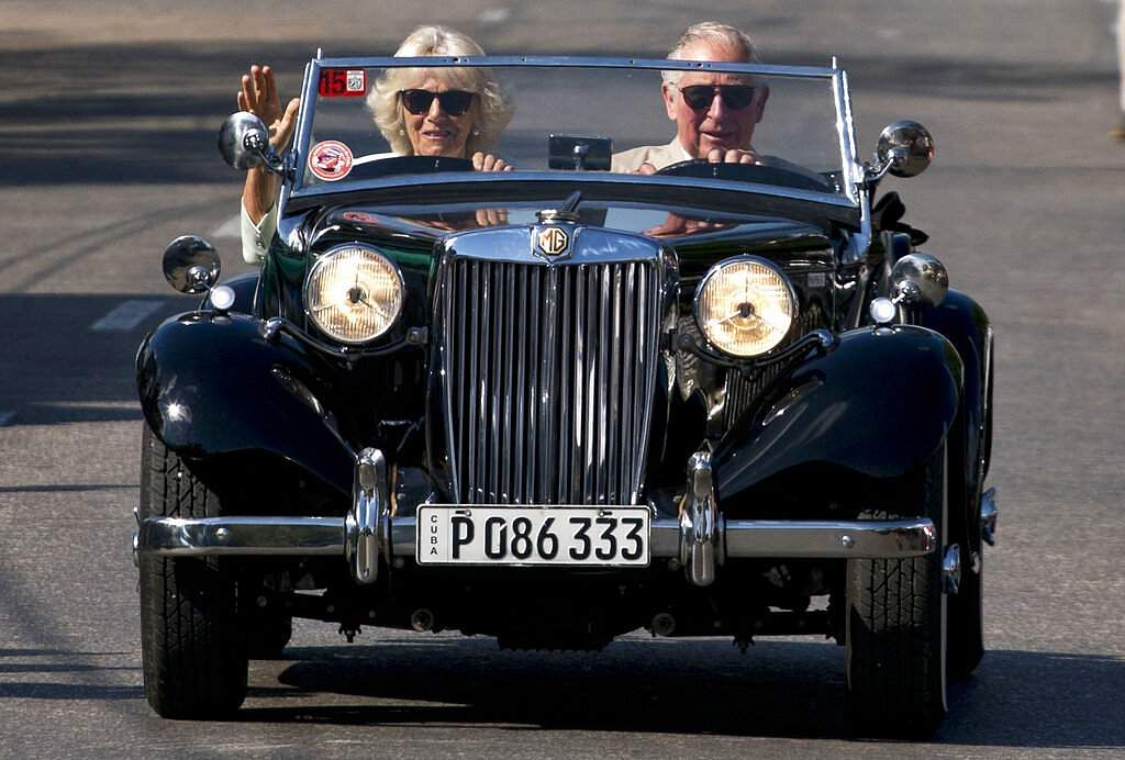 Prince Charles and wife Camilla, Duchess of Cornwall in Havana, Cuba (AP Photo/Ramon Espinosa, File)