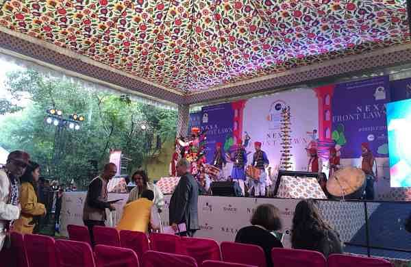Jaipur Literature Festival at Diggi Palace