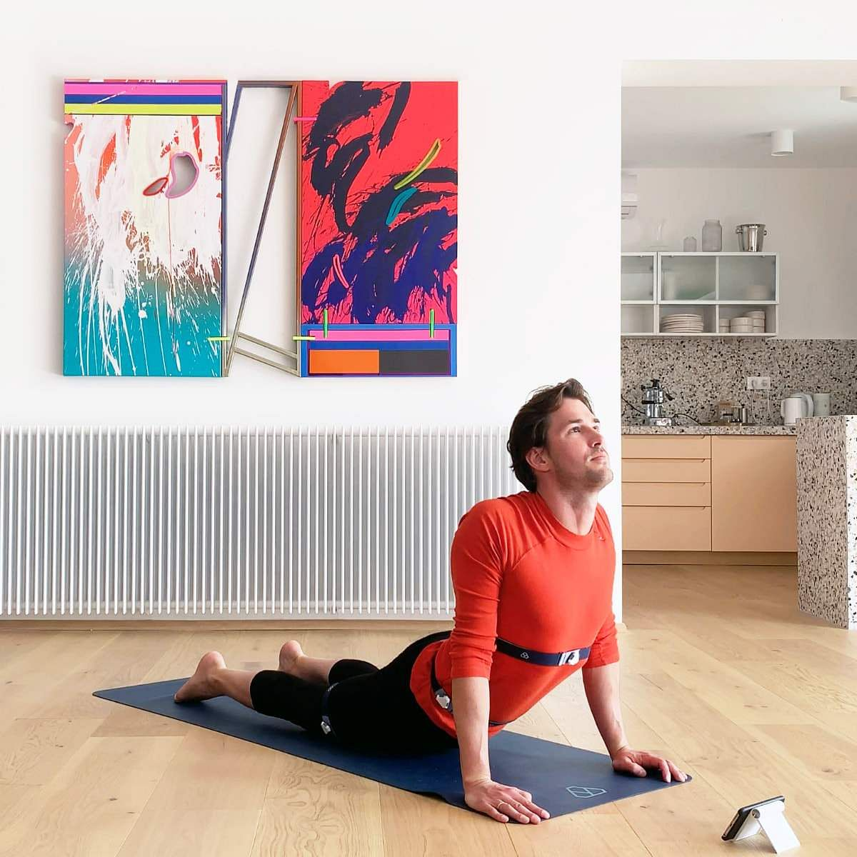 Yoganotch: A personal yoga instructor for your phone. Using wearable yoga sensors, it scans your posture in 3D space to give you live and supportive feedback on posture. Price TBA.