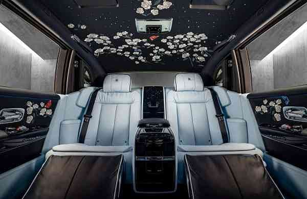 The Rolls-Royce Rose Phantom