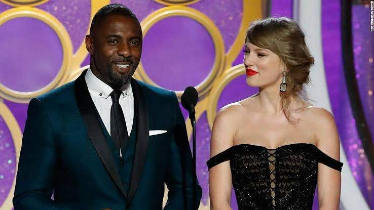 'We see the album sales and awards, not the hard work': Idris Elba on sharing stage with Taylor Swif