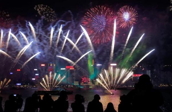 2019 NY celebrations in Hong Kong